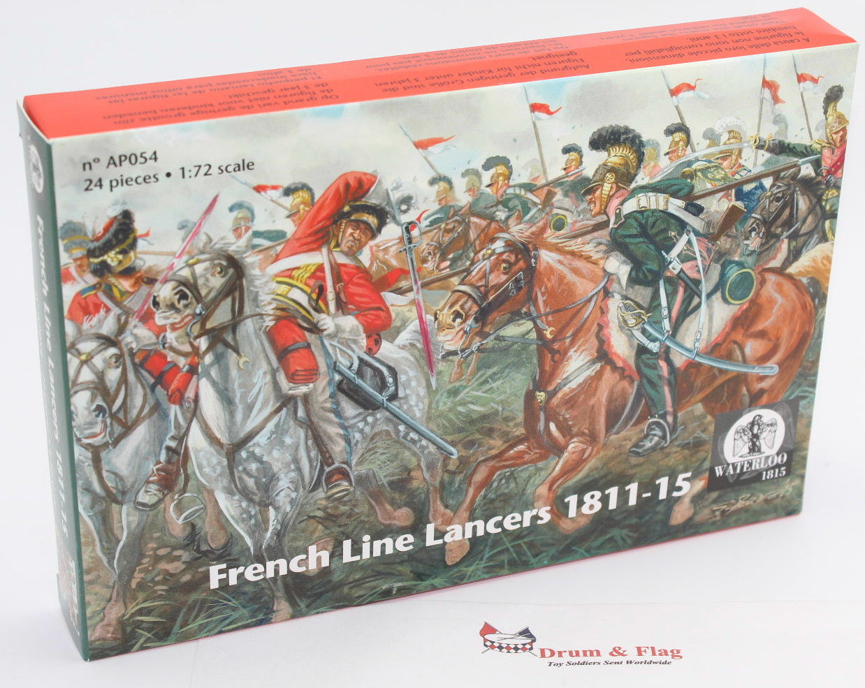 French Line Infantry Fusiliers Marching 1:72 Waterloo 1815-061