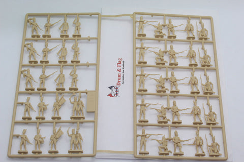 INCOMPLETE SET - ITALERI 6072 - NAPOLEONIC FRENCH GRENADIERS. 1:72 SCALE PLASTIC FIGURES
