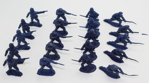 Timpo - ACW Union Infantry x 20 Action Pack figures - 54mm - 1/32 scale