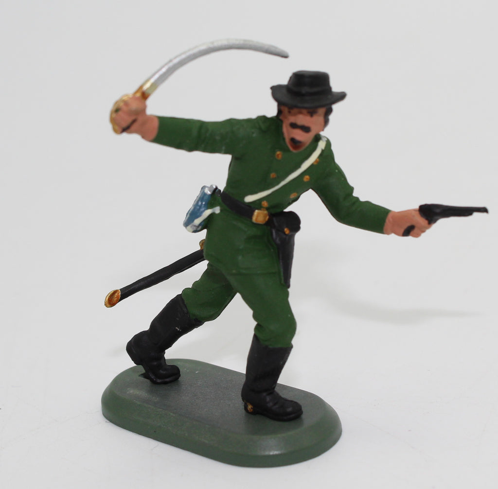 Britains Deetail ACW Union Officer - Berdan's Sharpshooters - 54mm - 1/32 scale. Green Uniform
