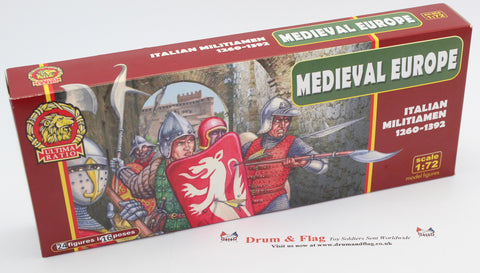 Ultima Ratio UR7211 - Italian Militiamen 1260-1392 - 1/72 scale