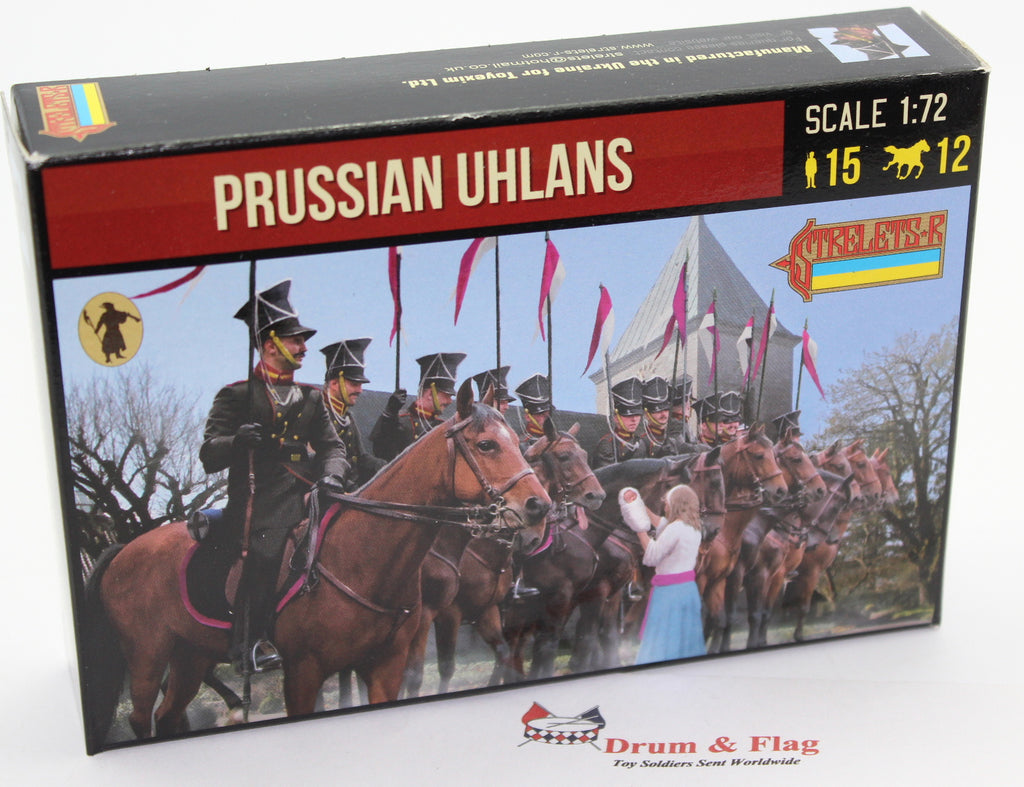 Strelets 228 - Napoleonic Prussian Uhlans. 1/72 Scale
