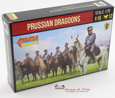 Strelets 229 - Napoleonic Prussian Dragoons. 1/72 Scale