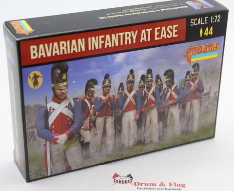 Strelets 270 - Napoleonic Bavarian Infantry at Ease. 1/72 Scale