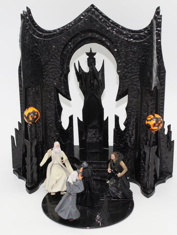 Orthanc Scene - Armies of Middle Earth - Saurman, Wormtongue & Gandalf.