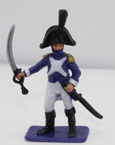 Supreme(?) - Napoleonic French Officer. Factory Painted. 1/32 Scale