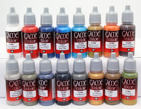 VALLEJO GAME COLOR PAINT - AMERICAN CIVIL WAR - ACW 16 BOTTLE SET - ACRYLIC 17ml