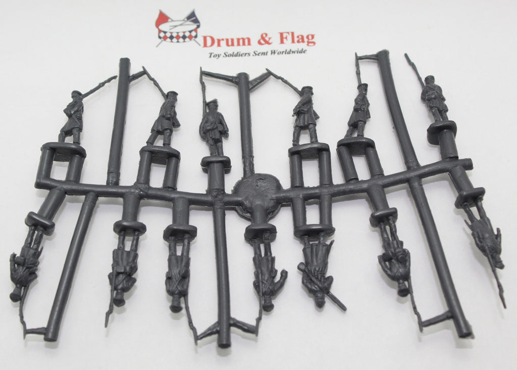 Single Sprue of Strelets Set 168 - Prussian Landwehr on the March - Napoleonic. 1/72 Scale Plastic Figures