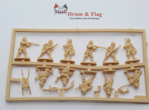 Single Sprue of HaT 8270 WW1 German Schutztruppe. 1/72 Scale