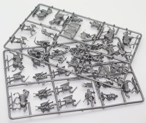 ZVEZDA 8014. SIEGE MACHINES KIT No 1. 1/72 SCALE UNPAINTED PLASTIC. USED