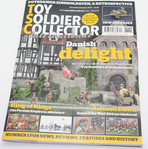 Toy Soldier Collector Magazine Issue 97 - Dec 2020 / Jan 2021 - Used