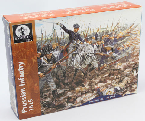 WATERLOO 1815 AP030 NAPOLEONIC PRUSSIAN INFANTRY 1/32 SCALE FIGURES