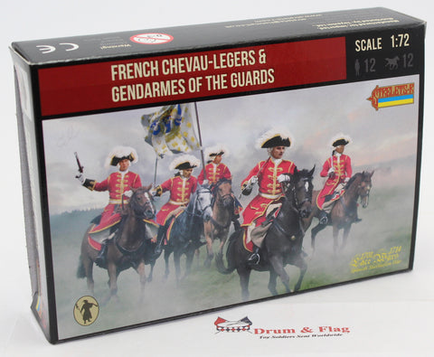 Strelets #239 Chevau-Legers and Gendarmes de la Garde. War of Spanish Succession.