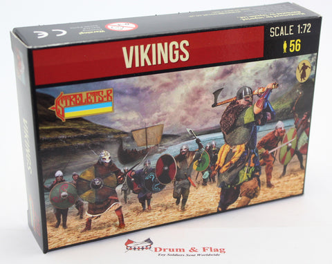 Strelets Set 250 Vikings. 1/72 Scale Plastic
