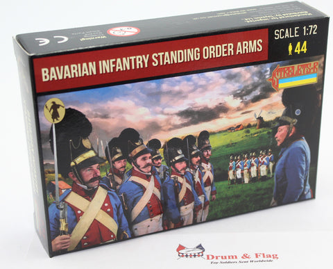 Strelets 271 - Napoleonic Bavarian Infantry Standing Order Arms. 1/72 Scale