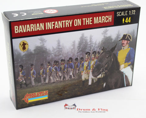 Strelets 272 - Napoleonic Bavarian Infantry on the March. 1/72 Scale