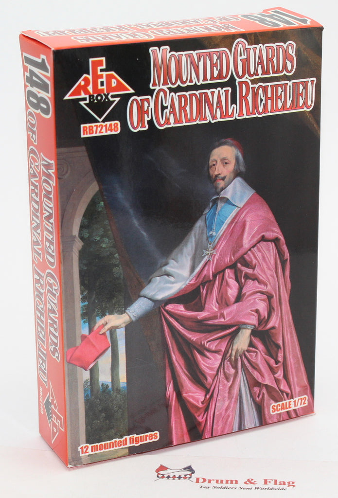 Redbox 72148. French Mounted Guards of Cardinal Richelieu. 1/72 scale.
