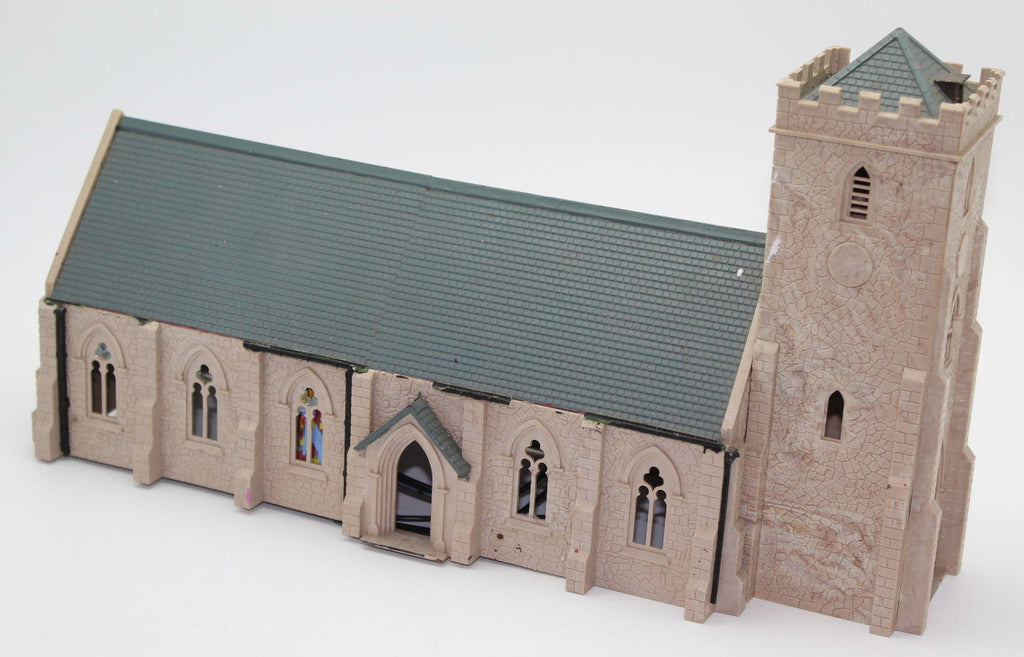Hornby Country Church. 00 Gauge. Plastic. Converted/Extended. Used.