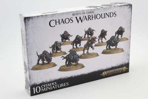 Chaos Warhounds. Beasts of Chaos. Games Workshop. Plastic Kit.