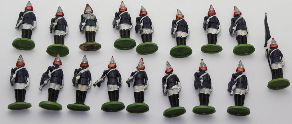 Britains Herald - Blues & Royals lot x 17. 1/32 Scale. Used