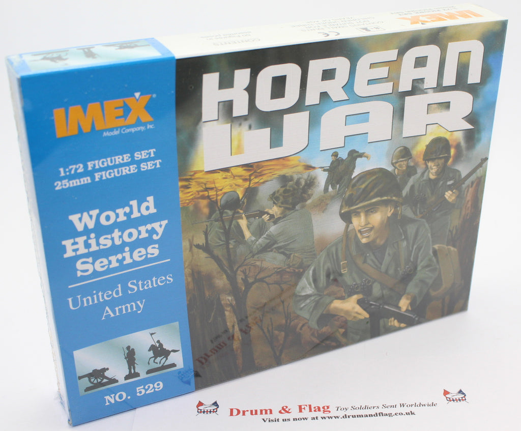 IMEX 529 UNITED STATES US ARMY. KOREAN WAR. 1:72 SCALE