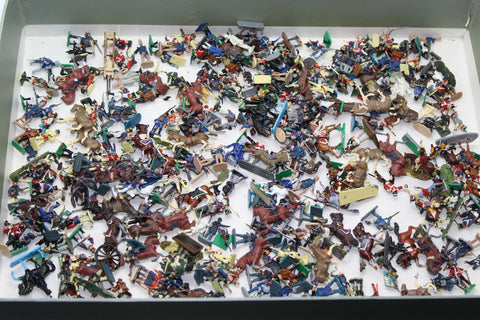 Painted 1/72 Scale Napoleonic Figures Used Joblot. 300+