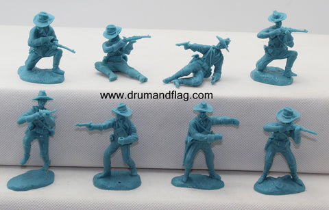 PARAGON - Dismounted U.S. Cavalry Set #3 c60mm Unpainted Plastic. PS008LB