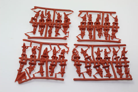 NO BOX! - STRELETS SET 029. BRITISH HIGHLANDERS. CRIMEAN WAR. 1/72 SCALE.