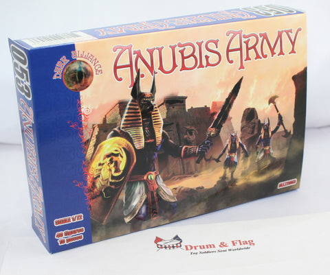 Dark Alliance 72053. Anubis Army - 1/72 Scale. Fantasy Egyptian