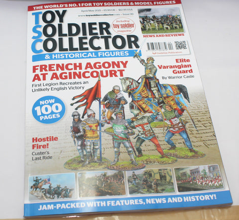 Toy Soldier Collector Magazine Issue 99 - Apr / May 2021 - Used. UK only