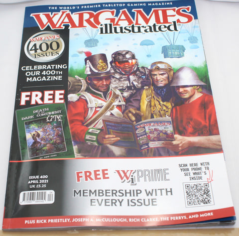 Wargames Illustrated Issue 400 -  April 2021 - Used Condition - UK Only