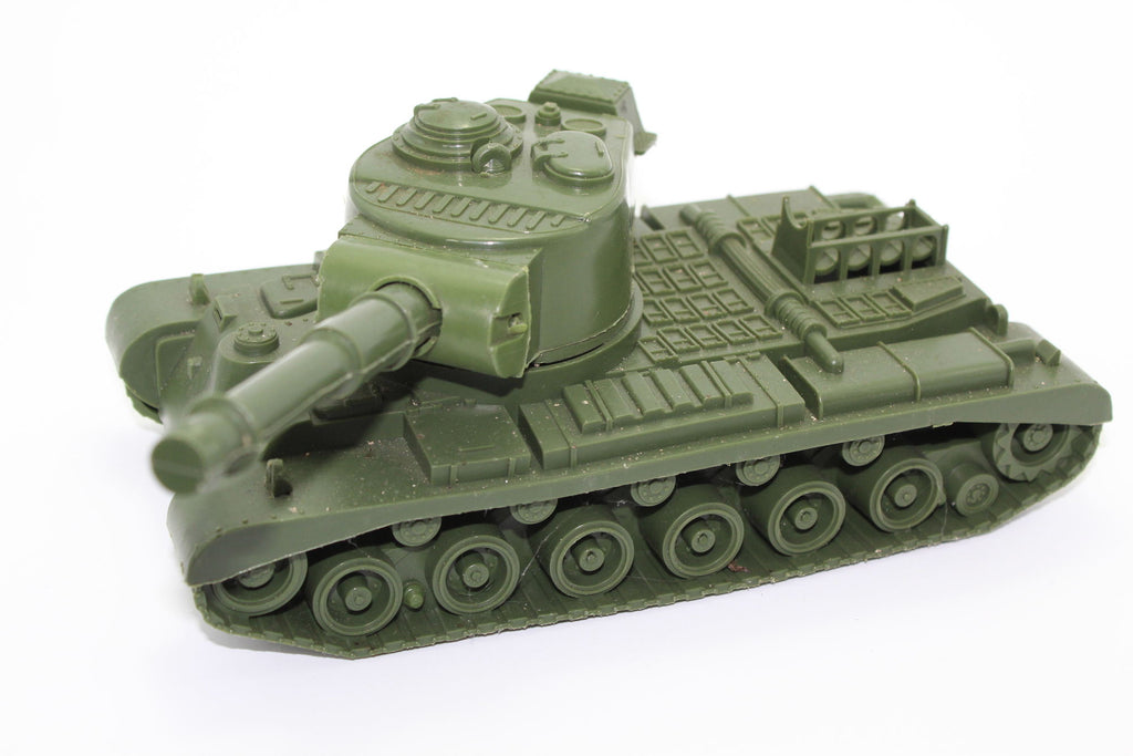 Pershing Tank. Process Plastic? 1:30 Scale. Used. No box. (BT37)