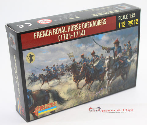 Strelets 241 - French Royal Horse Grenadiers. War of Spanish Succession. 1/72 Scale.