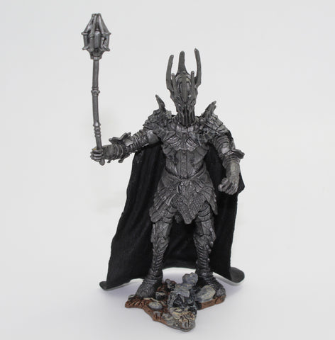 SAURON - The Dark Lord. LORD OF THE RINGS AOME (ARMIES OF MIDDLE EARTH). Used. No Sword.