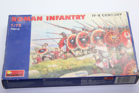 Used. Miniart 72012. Late Roman Infantry. 1/72 Scale. (KJ25)