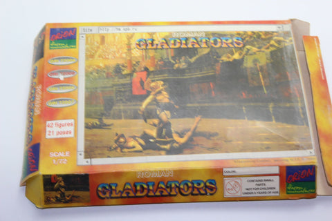 Used. Orion 72005. Gladiators. 1/72 Scale. (KJ29)
