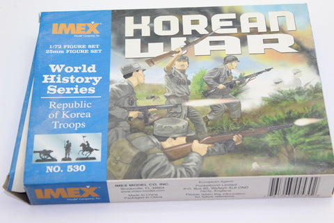 Used. Imex. Republic of Korea Infantry. Korean War. 1/72 Scale. (KJ33)