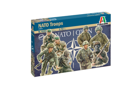 Italeri 6191 NATO Troops (1980's) - 1/72 scale (ex-Esci).