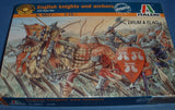 ITALERI 6027 - HYW ENGLISH KNIGHTS & ARCHERS. 1:72 SCALE. MEDIEVAL