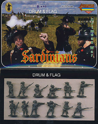 STRELETS M 53 - SARDINIANS - CRIMEAN WAR 1/72 SCALE. SARDINIAN TROOPS. CRIMEA