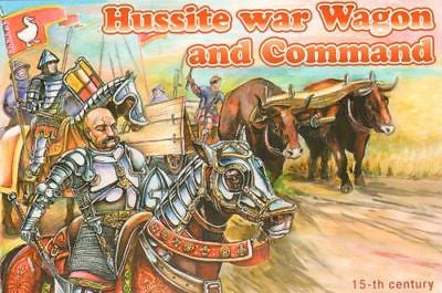 ORION 72039 HUSSITE WAR WAGON & COMMAND 1/72 SCALE. HUSSITES