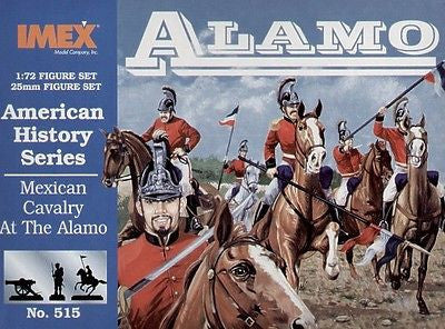 IMEX 515 Mexican Cavalry at the Alamo. 1/72 Scale.