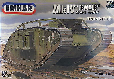"EMHAR 5002. MKIV ""FEMALE"" WW1 BATTLE TANK"