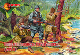 Mars 72109 Imperial Japanese Paratroopers WWII. 1/72 scale