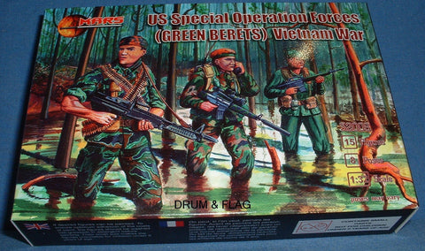 MARS 32008. US GREEN BERETS - SPECIAL OPERATIONS FORCES - VIETNAM WAR - 1/32