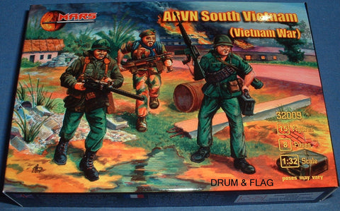 MARS 32009. ARVN SOUTH VIETNAMESE ARMY - VIETNAM WAR - 1/32