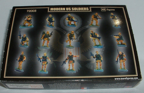 MARS 72003 MODERN U.S. SOLDIERS. 1/72 SCALE AMERICAN INFANTRY. US USA. Boxed