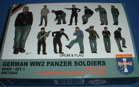 ORION 72045 WW2 GERMAN PANZER SOLDIERS 1/72 SCALE