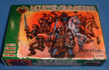 DARK ALLIANCE #72029. MOUNTED CIMMERIANS. 1/72 SCALE FANTASY BARBARIANS