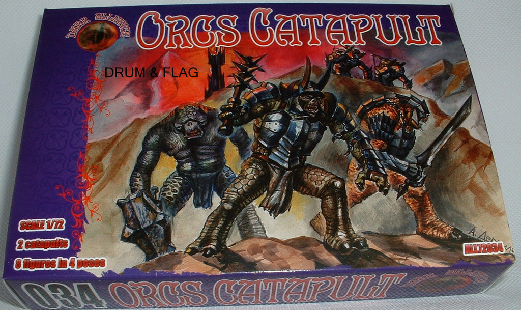 DARK ALLIANCE 72034 - ORCS CATAPULTS. 1/72 SCALE. Not GW